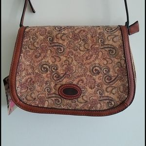 New Cork Saddle Bag